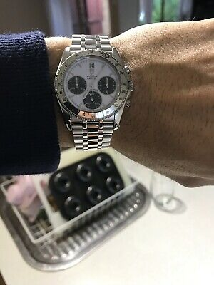 AU3250 • Buy TUDOR Monarch 15900 ROLEX 36mm Daytona Datejust Watch Panda Dial Chronograph