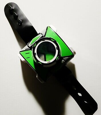 Ben 10 Omnitrix (Playmates Toys, 2018) *TESTED WORKS* Lights Sounds Deluxe Watch • 15.55£
