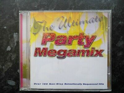£3.45 • Buy THE ULTIMATE PARTY MEGAMIX - 100 Sequenced Hits. Glam, Rock, Funk, Disco Party.