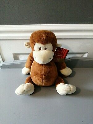 £9.99 • Buy Keel Toys Monkey Soft Comforter Plush Toy Large 8inch Approx WithTags