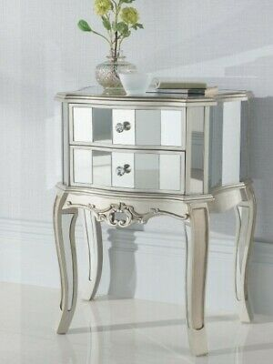 £175 • Buy Set Of Mirrored Bedside Tables (Brand New)
