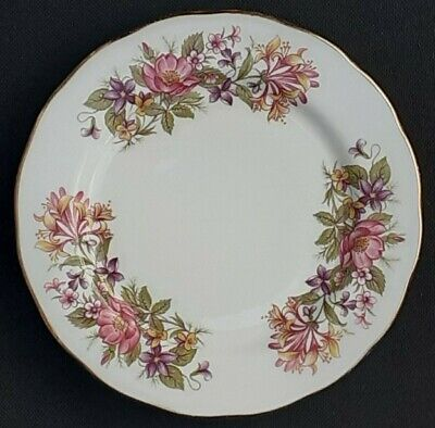 £3.95 • Buy Colclough China Side / Tea Plate. Wayside Pattern 8581. Vintage Ware.