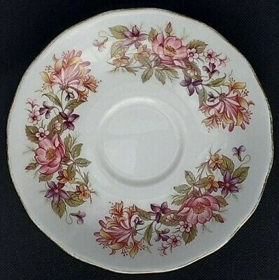 £3.95 • Buy Colclough China Saucer Plate. Wayside Pattern 8581. Vintage Ware.