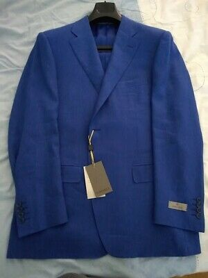 £309 • Buy Canali Jacket Brand New, Size 56 (46 Uk) French Blue