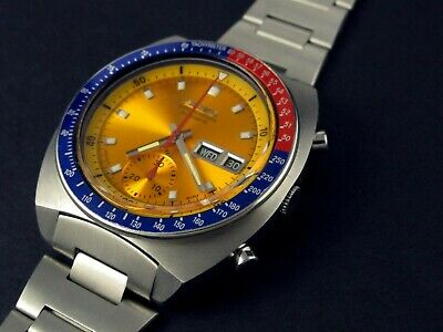$ CDN630.45 • Buy Rare Vintage Seiko 6139-6002 Pepsi Pogue Chronograph Excellent