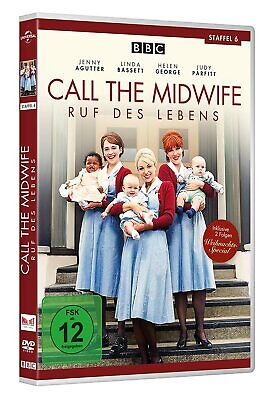 CALL THE MIDWIFE Complete Season 6 Sixth TV Serie NEW SEALED UK REGION 2 DVD PAL • 39.99£
