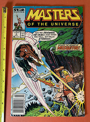 $18.99 • Buy Vintage 1987 Master Of The Universe #8 He-Man Mosquitor Marvel Comic Book 80s
