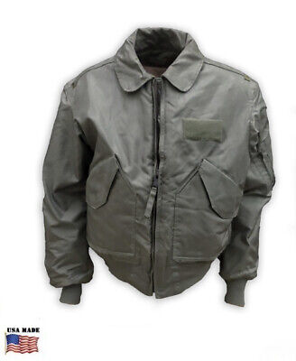 $ CDN326.67 • Buy NEW MILITARY SURPLUS CWU-36/P SUMMER FLIGHT JACKET Valley LARGE (42-44) ARAMID