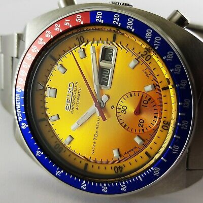 $ CDN800.85 • Buy No Reserve Automatic Water 70m Resist Seiko Pogue 6139 6002 Men Watch