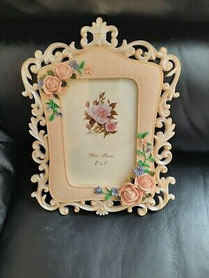 £11.99 • Buy Baroque Shabby Chic Photo Frame Vintage Rococo Style Wedding Gift Antique Style
