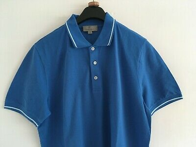£26 • Buy Canali Mens Blue Polo Shirt Size 40