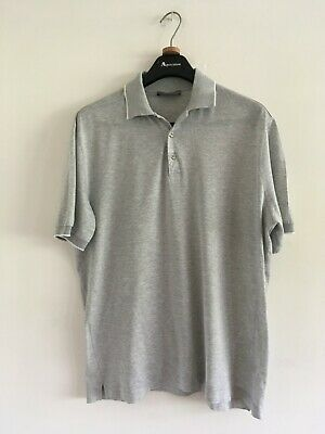 £26 • Buy Canali Mens Grey Polo Shirt Size 42