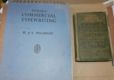 £8 • Buy Vintage Typing And Shorthand Books- Pitmans