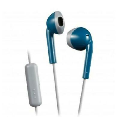 £8.72 • Buy JVC Blue Retro Style Stereo Sweatproof Earbuds With Remote And Microphone