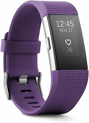 $ CDN59.99 • Buy Fitbit Charge 2 Heart Rate Monitor Fitness Tracker - Purple USED