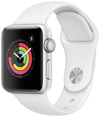 $ CDN229.29 • Buy Apple Watch Series 3 - 42mm - Stainless - (GPS + Cellular) - Silver - Excellent