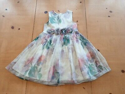 AU1.79 • Buy NEXT Girl's Floral Party Occasion Summer Dress Size 3 - 4 Years