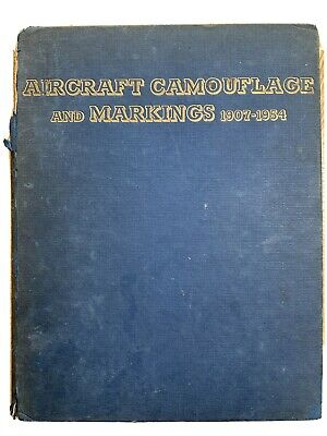 £9.99 • Buy AIRCRAFT CAMOUFLAGE AND MARKINGS 1907-1954 - Bruce Robertson 1956