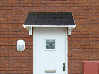 £289 • Buy Wooden Front Door Canopy Porch Roof - Timber Frame Lean To Awning Shelter Cover