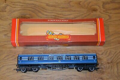 £32 • Buy Vintage Boxed Hornby Railways R422 First 1st Class Coach LMS Coronation Scot;VGC
