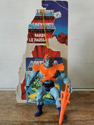 $378.83 • Buy Masters Of The Universe Vintage Faker Canada Cardback Mint Not Moc 8 Back He Man