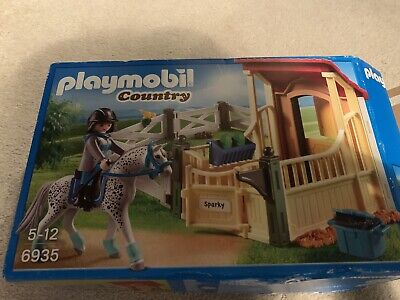 Playmobil 6935 Appaloosa Horse And Stable  • 3.50£