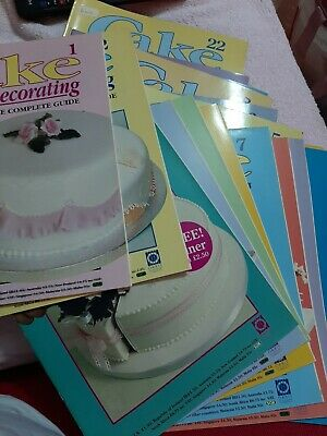 Job Lot Collection Of 22 Cake Decorating: The Complete Guide Books No 1 To 22  • 5£