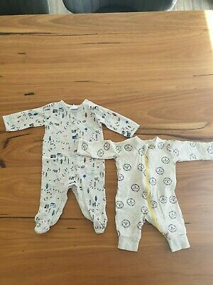 AU1 • Buy Assorted Baby Jumpsuits Size 0-3 Months