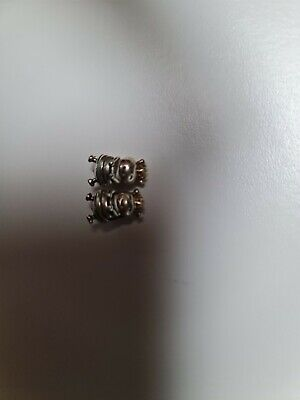 AU50 • Buy 2x Bumble Bee With Gold Crown Pandora Charms