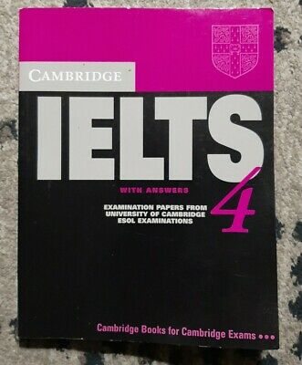 £5.70 • Buy Cambridge IELTS 4 Student S Book With Answers  Examination Papers Fro