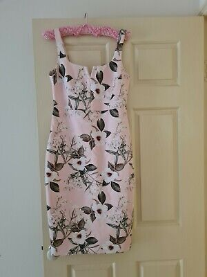 AU10 • Buy Forever New Pink Floral Dress BNWT