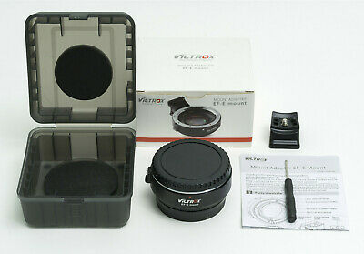 AU50 • Buy Viltrox EF-E Mount Adapter/speed Booster Inc Instructions & Box - As New Unused