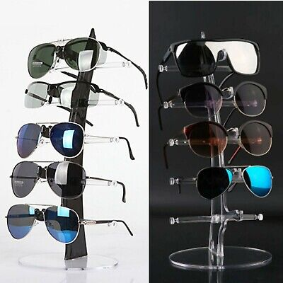 AU13.90 • Buy 5 Pair Sunglasses Rack Show Plastic Counter Glasses Display Stand Holder