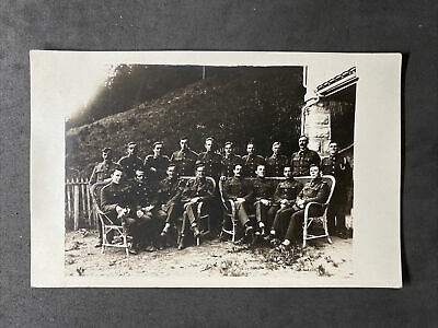 $8.27 • Buy Vintage Postcard: Military RP #M532: Group Of Officers Outside
