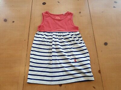 AU1.79 • Buy Joules Girl's Striped Spring Summer Casual Dress Size 3 - 4 Years