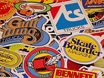 AU17.53 • Buy 9 Iconic Vintage 70's Skateboard Stickers