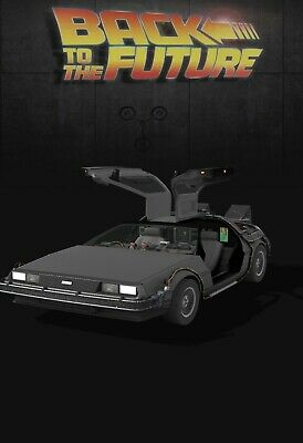 $25 • Buy VeVe Delorean Time Machine 1:6 Interactive! SOLD OUT! Rare NFT