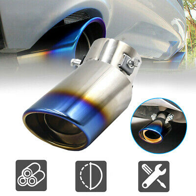 AU15.84 • Buy Stainless Steel Car Exhaust Pipe Tip Tail Muffler Replacement Car Accessories