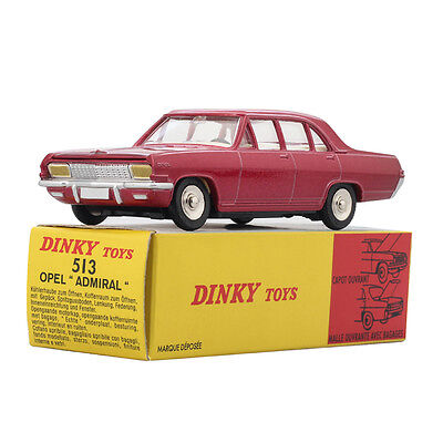 £10 • Buy 1/43 Atlas ALLOY 513 Red Opel Dinky Toys Model ADMIRAL Diecast Car MODEL DEFECTS
