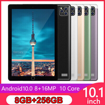AU99.99 • Buy Android 10.0 Pad 8+256G Tablet 10.1 Inch With Triple Camera Wifi GPS Dual SIM