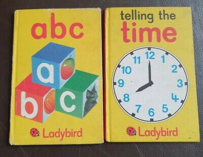 £8.99 • Buy Ladybird Books Telling The Time And ABC Early Learning Martin Aitchison B3