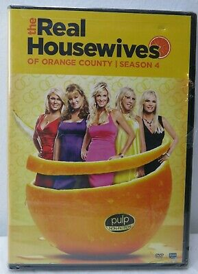 £5.64 • Buy The Real Housewives Of Orange County / Season 4  DVD (New- Sealed)