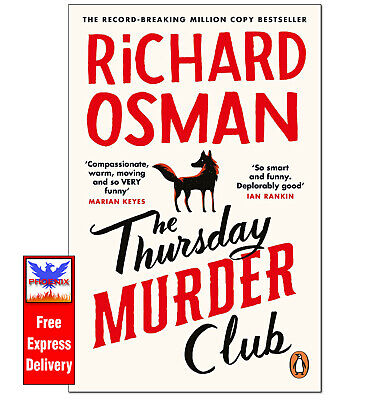 £5.89 • Buy THE THURSDAY MURDER CLUB Richard Osman PAPERBACK *BRAND NEW**NEXT DAY DELIVERY*
