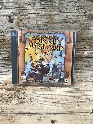 £5.99 • Buy Escape From Monkey Island Lucas Arts Retro PC CD Game