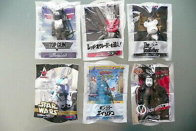 $16.45 • Buy 6 Movie BearBrick Pepsi NEX Promotional Phone Straps From Japan