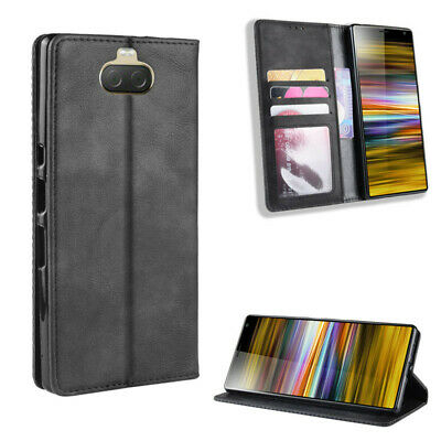 AU14.91 • Buy For Sony Xperia 1 5 8 10 Wallet Card Cover Anti-fall Phone Protective Case New