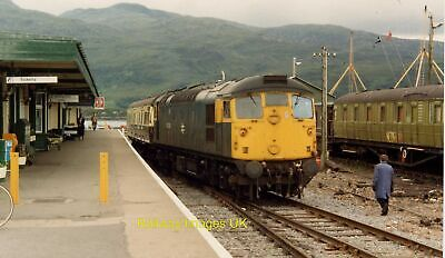 £1.60 • Buy Railway Photo -Shunting Observation Saloon At Kyle Of Lochalsh Station  C1984