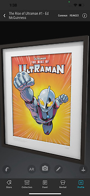 $124.99 • Buy VEVE NFT⚡️THE RISE OF ULTRAMAN #1 Common #4321 COMIC COVER Ed McGuinness