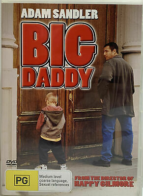 AU5.99 • Buy Big Daddy (DVD)   Adam Sandler - Region 4 - New And Sealed
