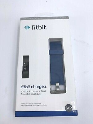 AU16.58 • Buy Original Fitbit  Charge 2  SMALL BLUE Replacement Classic Band NEW